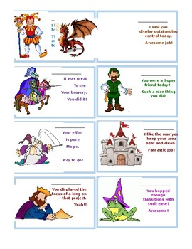 Medieval Complement Cards