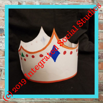 Medieval Crowns for Elementary Students