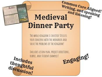 Middle Ages: Medieval Dinner Party