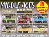 Medieval Europe (15 RESOURCES IN ALL) visual engaging lessons on the Middle Ages