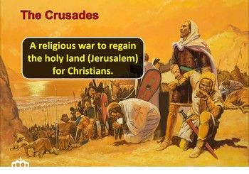 Medieval Europe Animated PowerPoint - Crusades and Magna Carta