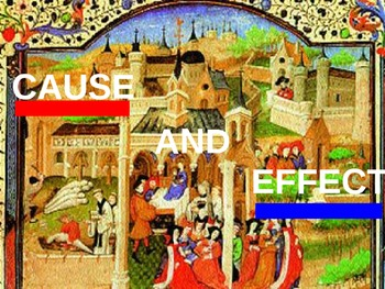Medieval Europe Cause & Effect Activity (PowerPoint)