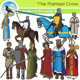 Medieval Europe Clip Art Set II - Middle Ages - History