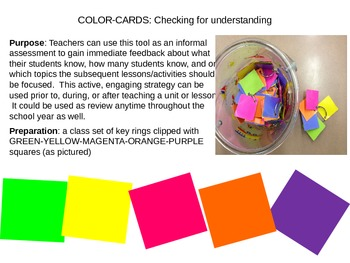 Medieval Europe Color-card Assessment
