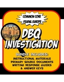 DBQ Medieval Europe Common Core Document Based Question Activity