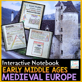 Medieval Europe - Early Middle Ages - Feudalism Interactive Notebook