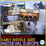 Medieval Europe - Early Middle Ages - Feudalism PowerPoint and Google Slides