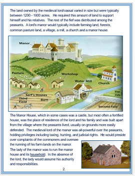 """""""Feudalism in Europe"""" + Assessment"""
