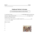 Medieval Europe Guided Notes Bundle