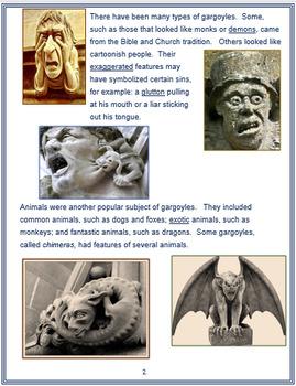 """Gargoyles"" + Assessments"