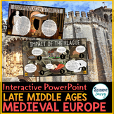 Medieval Europe - Late Middle Ages - PowerPoint and Google Slides