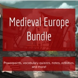 Medieval Europe Complete Unit - Lesson Bundle