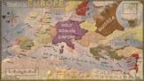 Medieval Europe Map (Alternate Map 1)
