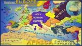Medieval Europe Map (Alternate Map 2)