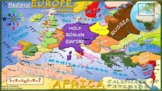 Medieval Europe Map (Alternate Map 4)