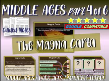 Medieval Europe (PART 4: MAGNA CARTA) engaging 88-slide Middle Ages PPT