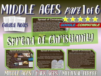 Medieval Europe MEGA-BUNDLE! PPTs, primary sources & more (25 resources in all)