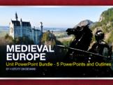 Medieval Europe PowerPoint Bundle