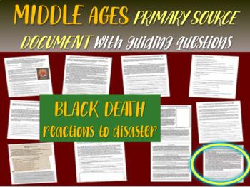 "Medieval Europe Primary Source: 1348 Black Death excerpt """