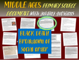 Medieval Europe Primary Source: 1348 Black Death text: BREAKDOWN OF SOCIAL ORDER
