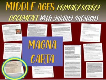 Medieval Europe Primary Source: Magna Carta vs. Bill of Ri