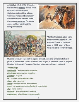 """""""Crusades - Causes, Course, and Consequences"""" + Assessment"""