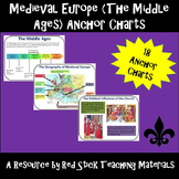 Medieval Europe (The Middle Ages) Anchor Charts
