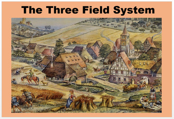 """The Three Field System of Medieval Europe"" + Quiz"