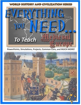 Medieval Europe Unit Plan (Complete Lesson Plans)