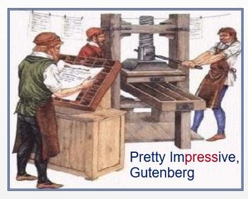 """Pretty Impressive, Gutenberg"" + Quiz"
