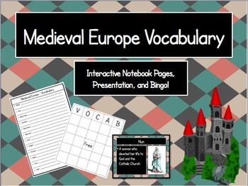 Medieval Europe Vocabulary