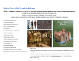 Medieval Faire Stations Activity
