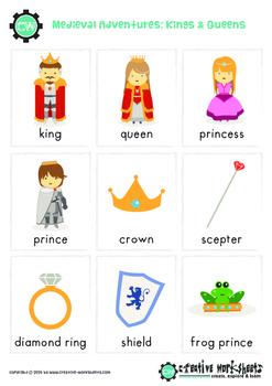 Medieval Fantasy: Kings & Queens, Knights & Castles & Princess Fantasy