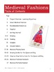 Medieval Fashions for Queens + Kings: Art Lesson for Grades 5-7