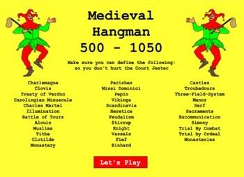 Medieval Hangman - Bill Burton