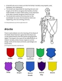 Medieval Heraldry Packet -- Coat-of-Arms and Shields