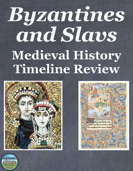 Medieval History Byzantines and Slavs Timeline Review