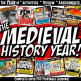 Medieval History Year in Curriculum Mega Bundle Common Cor