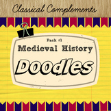 Medieval History Doodles pack #1