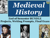Medieval History End of Semester Bundle