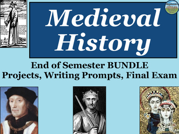 Medieval History End of Semester Bundle