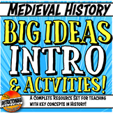 Medieval History Key Concept Big Ideas Introduction, Activities, & Assessments