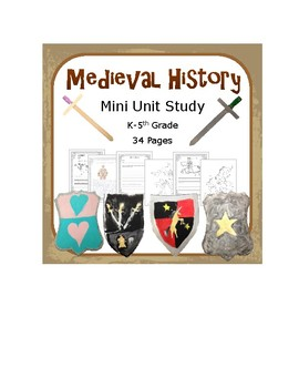 Medieval History- A NO PREP 7 Day Lesson Plan! Great Classroom Suppliment!