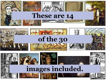Medieval History Primary Source Image Activity