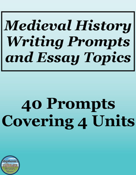 Medieval History Writing Prompts