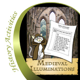 Medieval Illuminations - A Supplemental Art Project for Me