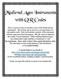 Medieval Instruments Activity