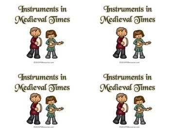 Medieval Instruments Game