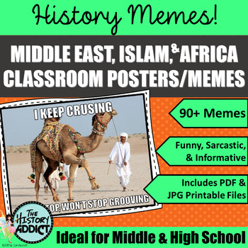 original 3254234 1 middle ages islam (medieval middle east) themed classroom poster set