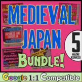 Medieval Japan: Unit Bundle!  5 Engaging Lessons to Teach Japan's Middle Ages!